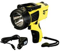 Streamlight WayPoint LED Spotlight 20/210 Lumens C Alk (4)/12V DC Yellow