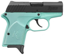 "Remington RM380 MICRO 2.9"" Barrel Teal BLUE Finish 6rd Mag"
