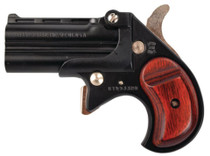 "Cobra Big Bore Derringer, 9mm, 2.75"", Black Finish, Rosewood Grips"