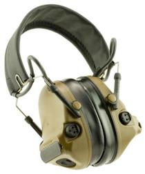 3M Peltor Comtac III Communication Headset Earmuff 23 dB Coyote Brow