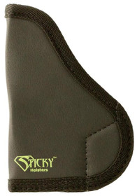 Sticky Holsters MD-4 CCP/PPS Holster, Ambi, Latex Free, Black W/ Green Logo