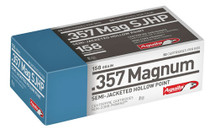 Aguila Ammunition .357 Magnum, 158 Gr, Semi-Jacketed Soft Point, 50rd/Box