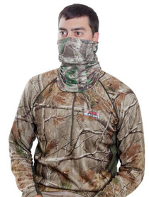 Allen Balaclava Face Mask Adjustable Face One Size Fits Most Realtree Xtra Green