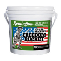 Remington Freedom Bucket 300 AAC Blackout 120gr Open Tip Match 160rd Plastic Bucket