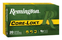 Remington Core-Lokt 6mm Creedmoor, 100gr, 20rd/Box