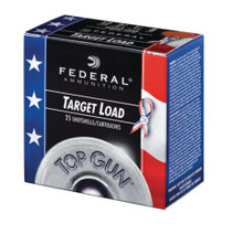 "Federal Top Gun 12 Ga. 2.75"". 1200 FPS. 1.125oz. 8 Shot. Wounded Warrior Project, 250rd/Case"