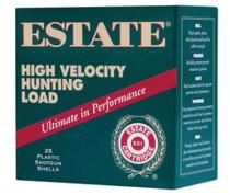 "Estate High Velocity Hunting 20 Ga, 2.75"", 1220 FPS, 1oz, 5 Shot, 250rd/Case"