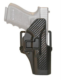 Blackhawk CQC Carbon Fiber Serpa Active Retention Holster Textured Black Right Hand For H&K P-30