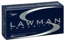 Speer Lawman 40 Smith & Wesson 180gr, Total Metal Jacket 50 Bx/ 20 Cs