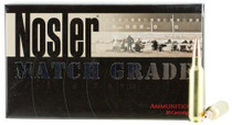 Nosler Match Grade 22 Nosler 77gr, Custom Competition 20rd/Box