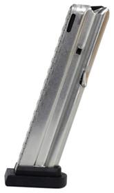 Beretta M9/M9A1 22 LR Magazine, 10rd Silver Finish