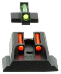 Williams FireSight Pistol S&W M&P Shield Aluminum Green Aluminum Red Blac
