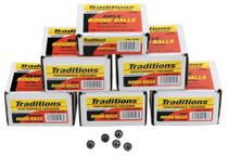 Traditions Revolver 44 Black Powder 140gr, 100 .451