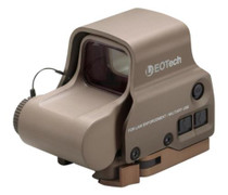 EOTech EXPS3-2 Tan, NV, Side Button, QD Lever, 65MOA Ring and 2 Dots
