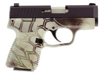 """Kahr Arms CM9, 9mm, 3.1"""" Barrel, 6rd, Kryptek Camo Frame, Black Cerakote Slide"""