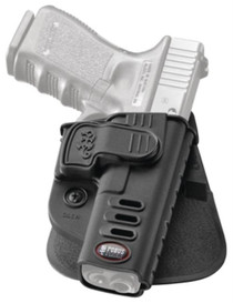 Fobus CH Rapid Release Level 2 Holster, Glock 17/19/22/23/31/32/34/35, RH, Black