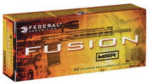 Federal Fusion MSR 6.5 Grendel 120gr, Soft Point, 20rd/Box