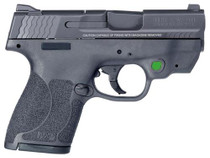 "Smith & Wesson M&P40 Shield .40S&W, 3.1"", 2.0 CT GRN"