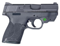 """Smith & Wesson M&P40 Shield .40S&W, 3.1"""", NTS 2.0 Green 6/7R"""