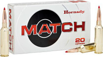 Hornady Match Rifle Ammunition 6.5mm PRC 147 Grain ELD Match 20rd Bax