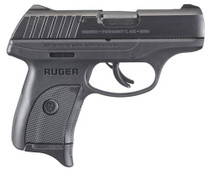 "Ruger EC9S Compact 9mm, 3.1"" Barrel, Thumb Safety, Fixed Sights, 7rd"