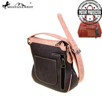 Montana West Concealed Handgun Collection Crossbody, Coffee#2