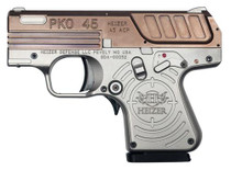 "Heizer PKO 45 ACP, 2.75"", 5rd, Stainless Steel Frame, Copper Finish Slide"
