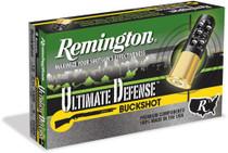 "Remington Ultimate Home Defense Buckshot 20 Ga, 2.75"", 17 Pellets, #3 Buck Shot, 5rd/Box"