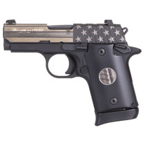 "Sig P938 United We Stand Special Edition 9mm 3"" Barrel Micro Compact 1- 6rd & 1-7rd Mags"