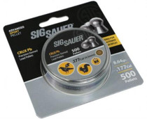 Sig Pellet, .177 Cal, Crux Lead, 500 Count, Blister Pack