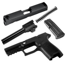 Sig Caliber X-Change Kit P320 Compact .357 Sig, Black, 10rdd