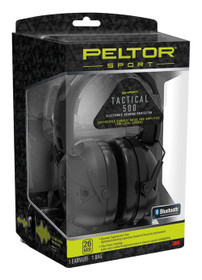 Peltor 3M Sport Tactical 500 Electronic 26db, Black