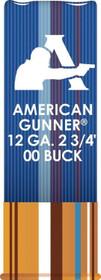 """Hornady American Gunner 12 Ga, 2.75"""" Buckshot, 1oz, 00 Buck, 10rd/Box"""