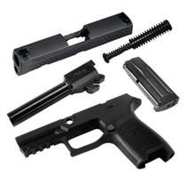 Sig Caliber X-Change KIT P320 Subcompact 9mm, Black, 10rd