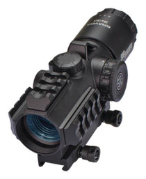 Sig Bravo3 Battle Sight, 3X24mm, 300 Blackout Horseshoe DOT Illum Reticle, 0.5 Moa, M1913, Black