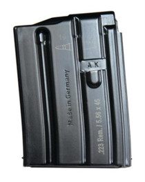 HK MR556 Magazine AR-16/M4/M16 5.56mm NATO, Black, 10rd