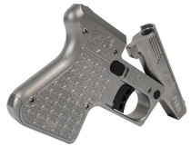 "Heizer PAR1 Pocket AR Pistol, .223/5.56, 3.875"", Single Shot, Stainless Steel"