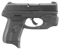 """Ruger LC9s 9mm, 3.12"""", 7rd, Black, LaserMax Laser"""