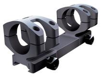Nikon 1-Pc Base & Ring Combo For Black Series Black Matte Finish MSR