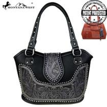 Montana West Tooling Concealed Handgun Collection Handbag