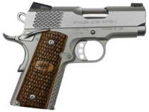 "Kimber Stainless Ultra Raptor II, 9mm, 3"", Satin Stainless Slide"