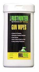 Bull Frog Rust Hunter Gun Cleaning Wipes 25 Piece
