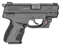 "Springfield XD-E, 9mm, 3.3"",, Viridian Red Laser, Black, 9rd"