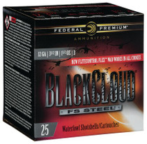"Federal BlackCloud 12 Ga, 3.5"", 1 1/2oz, 25rd/Box"