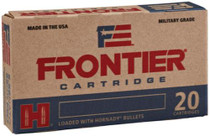 Hornady Frontier .223 Remington, 68gr, Bottail Hollow Point, 20rd/box