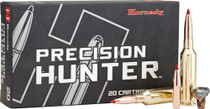 Hornady Precision Hunter, .25-06 Remington, 110 Grain ELD-X, 20rd/box