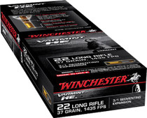 Winchester Varmint 22 LR 37gr, Hollow Point 3/1 Segmentin 50rd Box