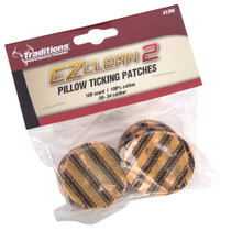 Traditions EZ Clean 2 Pillow Ticking Patches Cleaning Patches 45 - 54 Cal
