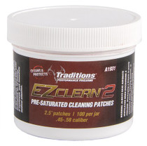 Traditions EZ Clean 2 Cleaning Patches Cleaning Patches 45 - 54 Cal