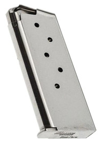 Sig P938 Magazine 9mm 6rd Flat Base Stainless Steel